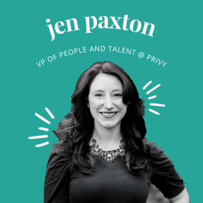 Jen Paxton, VP of People and Talent at Privy part of the LearnLux Liquid Assets Series
