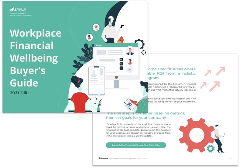 2021 financial wellbeing buyer's guide by LearnLux