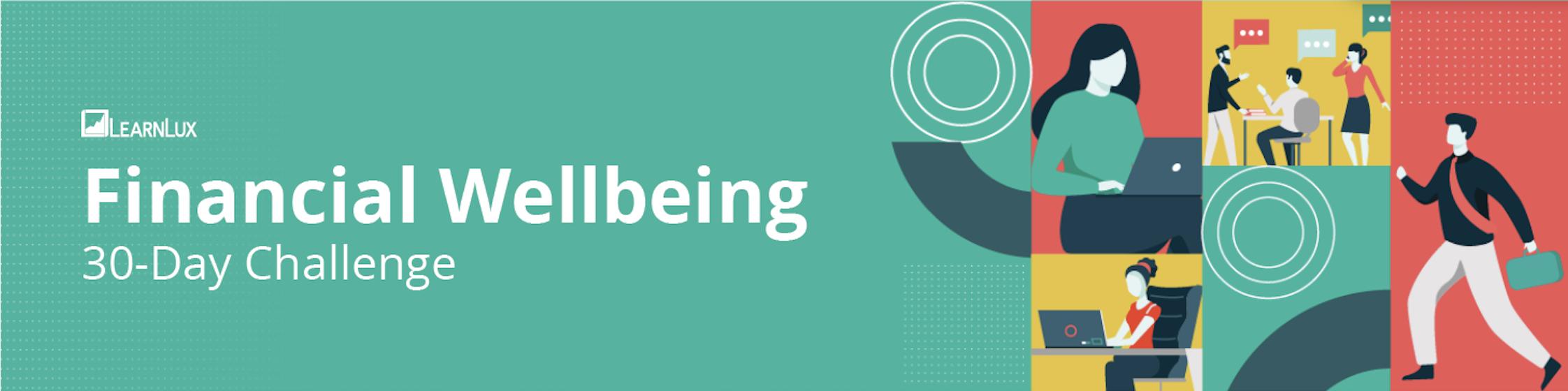 Financial wellbeing challenge banner